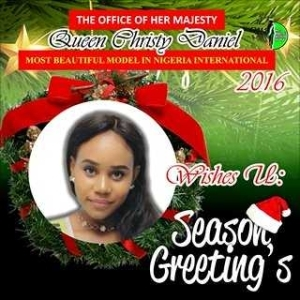 Most Beautiful Model In Nigeria International Celebrates Christmas With Lovely Photos